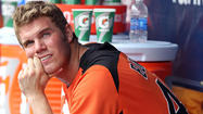 Orioles top prospect Dylan Bundy, shelved since March with right arm tightness, was scheduled to see renowned orthopedic surgeon Dr. James Andrews on Tuesday in Gulf Breeze, Fla., to get a second opinion on what's causing his ongoing discomfort.