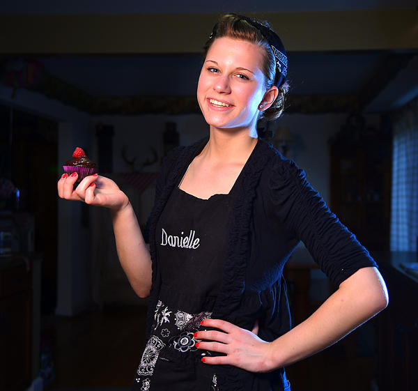 Danielle Hill of Clear Spring won the third annual Herald-Mail Cupcake Contest with Double Chocolate Summer Berry Cupcakes.