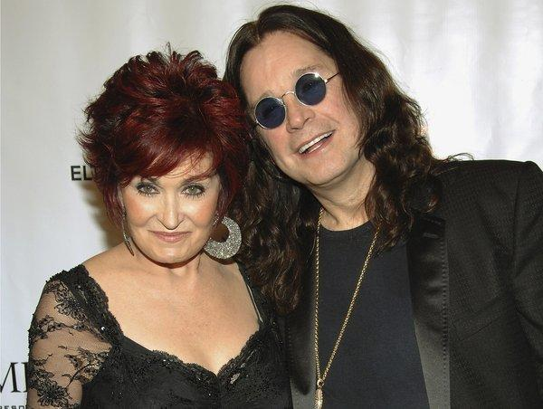 "Sharon Osbourne said on ""The Talk"" that she and husband Ozzy Osbourne, seen together in 2007, are not getting divorced."
