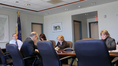 Somerset County commissioners held meeting Tuesday to discuss county issues.