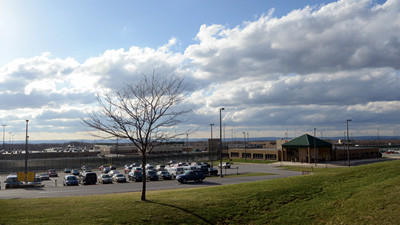 A correctional officer at SCI-Somerset is charged with allegedly being involved with smuggling contraband.