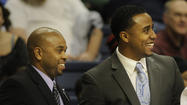 UConn head basketball coach Kevin Ollie is shuffling his staff, promoting Ricky Moore to full-time assistant.