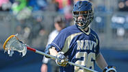 Navy junior long-stick midfielder <strong>Pat Kiernan</strong> has been named to the All-Patriot League men's lacrosse first team, the conference announced Tuesday.