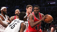 "On the eve of the Bulls' first-round series with the Nets, <strong>Nazr Mohammed</strong>, who drew 19 ""Did Not Play — Coach's Decision"" designations this season, quipped that <strong>Tom Thibodeau</strong> had been saving him for big moments."