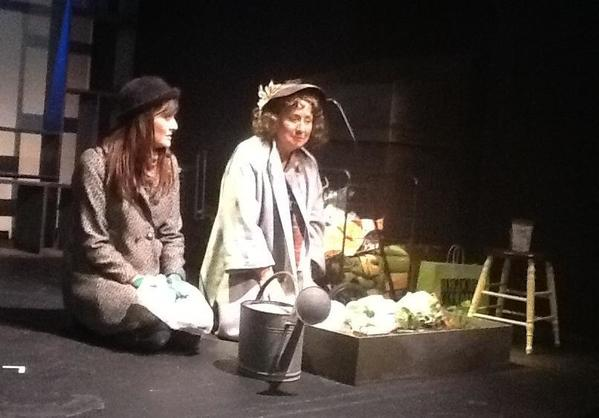 "Kate Sullivan, left, and Mary Ellen Gridley in ""Mary of the Avenue."""