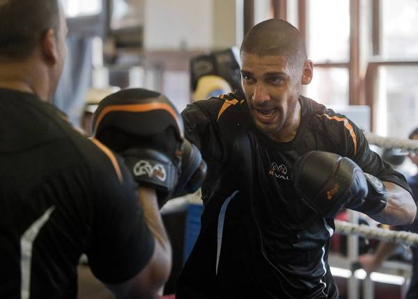"""Bethlehem welterweight Ronald Cruz will be at the Sands Bethlehem Event Center on June 14 for another """"Fight Night"""" series card. He will take on Jaime Herrera of Illinois."""