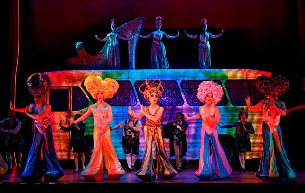 "The bus carrying ""Priscilla"" and her colorful friends rolls into Las Vegas in June for an 11-week stop."