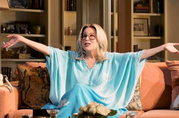 """Bette Midler in a dress rehearsal for """"I'll Eat You Last."""""""