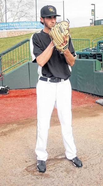 After pitching at the University of Michigan, Brandon Sinnery is performing well with the South Bend Silver Hawks.