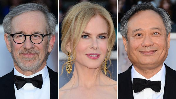 Steven Spielberg, Nicole Kidman, and Ang Lee are among those selected to serve on the competition jury for the Cannes Film Festival in May.