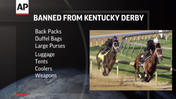 Backpacks banned from Kentucky Derby [Video]