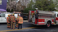 One man is dead and a volunteer firefighter was in critical condition after a three-alarm fire tore through a home in Reisterstown early Wednesday morning, according to the Baltimore County Fire Department.
