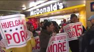 Chicago fast food strike