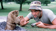 """Caddyshack"" on big screen"