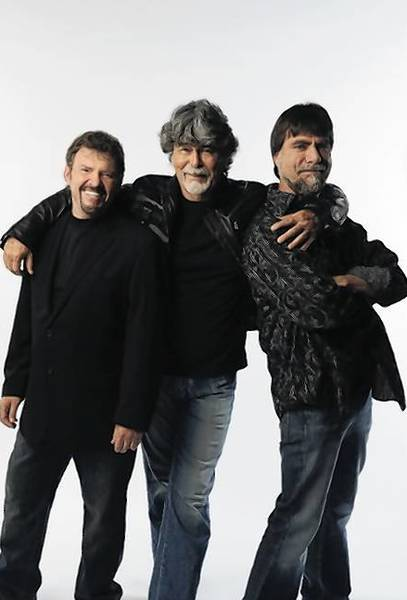 The band Alabama, Jeff Cook, Randy Owen, and Teddy Gentry, perform Friday at Oakdale.