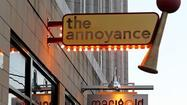 The Annoyance Theatre, a venerable Chicago comedy theater, is on the move. Jennifer Estlin, the theater's owner and executive producer, said Wednesday that it will exit its Uptown digs on the same block of North Broadway as the Uptown Theatre and move to 851 W. Belmont Ave. in Chicago's Lakeview neighborhood.