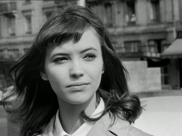"Anna Karina plays Veronica, the woman worth giving up country for in Jean-Luc Godard's classic political thriller ""Le Petit Soldat."""