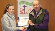 IC Catholic Prep Awards 2013 Wisbrock Service Award Scholarship
