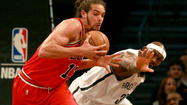 Chicago Bulls center Joakim Noah received 13 first-place votes and finished fourth in balloting for the NBA Defensive Player of the Year Award, which was won by Marc Gasol of the Memphis Grizzlies.