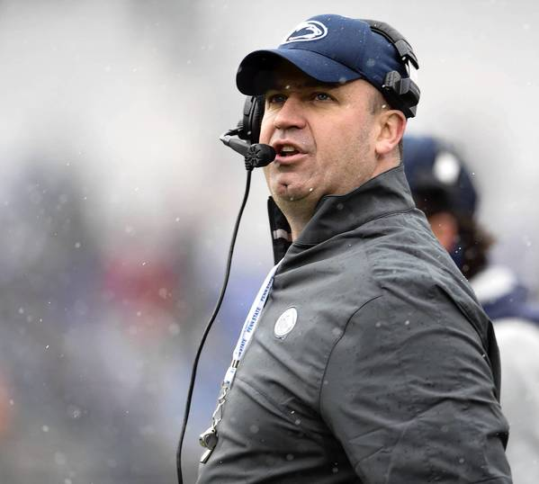 Penn State coach Bill O'Brien will headline the Coaches Caravan stop May 7 at the Holiday Inn Conference in Breinigsville.