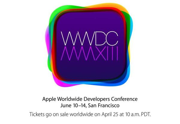 Apple has announced its annual developers conference will begin June 10.