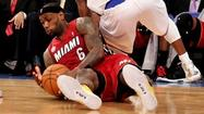 Miami Heat forward LeBron James essentially was recognized Wednesday as the NBA's top perimeter defender, just not as the league's Defensive Player of the Year.