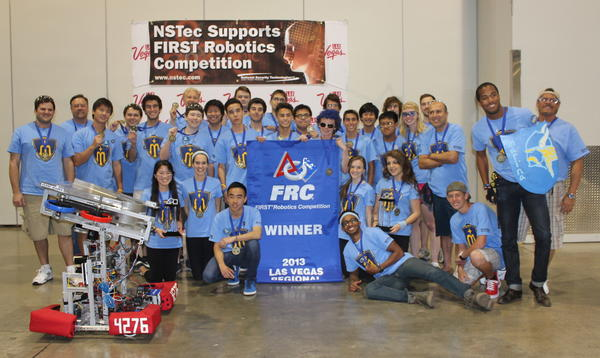 The Marina High School Robotics Club.