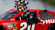 After failing a post-race inspection of his Kansas Speedway engine, winner Matt Kenseth has been hit with a massive penalty.