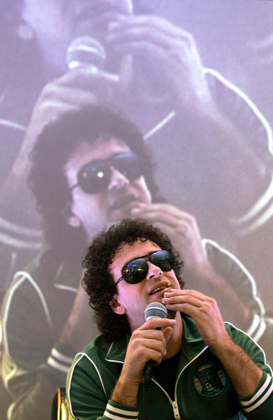 Gustavo Cerati, former lead singer of the Argentine rock band Soda Stereo.