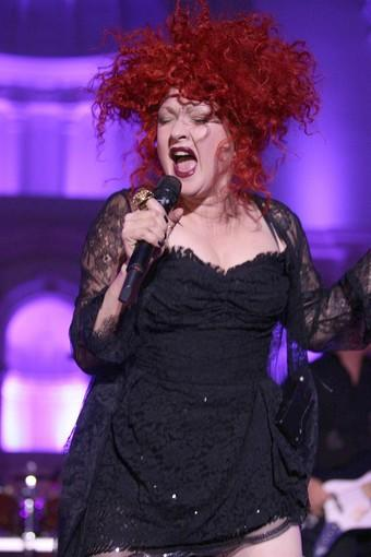 "<a class=""taxInlineTagLink"" id=""PECLB002943"" title=""Cyndi Lauper"" href=""/topic/entertainment/music/cyndi-lauper-PECLB002943.topic"">Cyndi Lauper</a> performs."
