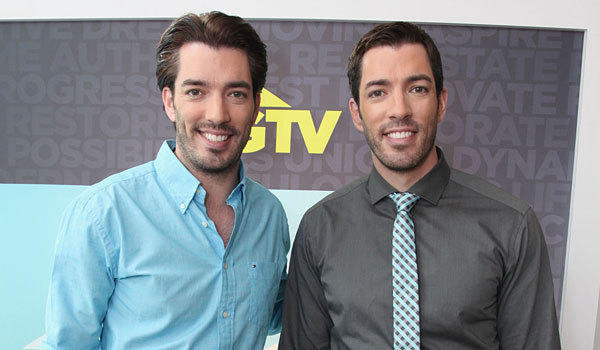 "Twin brothers Drew Scott, left, and Jonathan Scott from the new series ""Brother vs. Brother."""