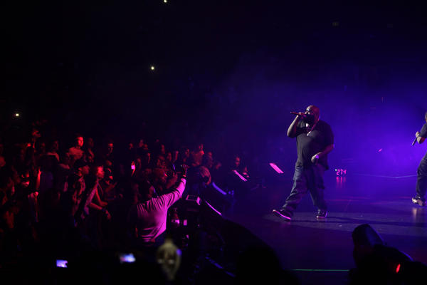 Among the events held over the years at the Gibson Amphitheatre was Power 106-FM's Cali Christmas concert in December.