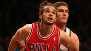 In a Bulls-Nets playoff series suddenly dominated by plantar fasciitis, Joakim Noah said Wednesday he's improving while Brooklyn's Joe Johnson skipped practice back east and is a game-time decision for Thursday's Game 3.