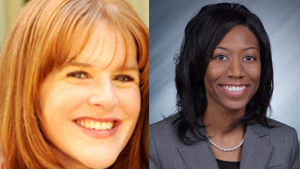 Kara Kelly, left, and Cristal Brisco have been appointed the city's director of communications and corporation counsel, respectively. (Photos provided)