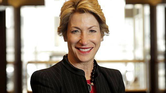 Trina Gordon, CEO of Boyden Executive Search at Two Prudential Plaza.