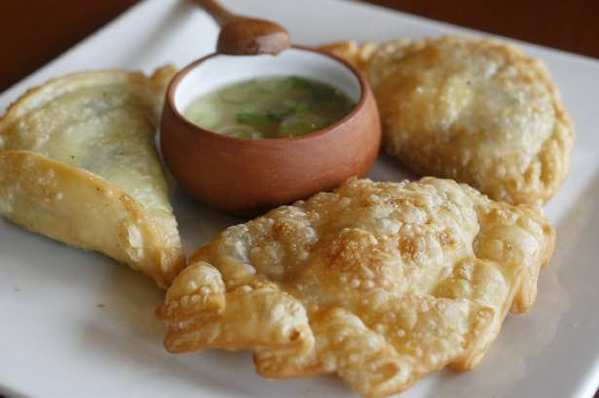 Empanadas served at Inka Cantina in Fountain Valley.