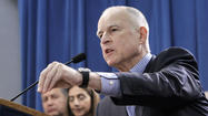 "SACRAMENTO -- Gov. Jerry Brown offered a spirited defense of his plan to overhaul the state's education system Wednesday and warned Democratic critics of his plan that they were ""going to get the battle of their lives"" if they attempt to change key parts of his proposal."