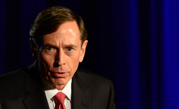 Former CIA director David Petraeus, here addressing a USC-sponsored event in March honoring the military, has accepted a teaching job at City University of New York.