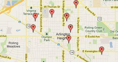 Storm sewer improvements are coming to eight areas in Arlington Heights.