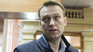 MOSCOW — One of Russia's most prominent opposition leaders went on trial Wednesday, proclaiming his innocence but predicting that the case will lead to a lifetime ban on his participation in Russian electoral politics.
