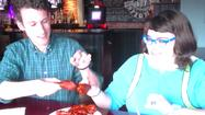 """Holy Shit, Dude"" ... Spicy Food Challenge #3: Suicide Wings at Derby's Dew Drop Inn"