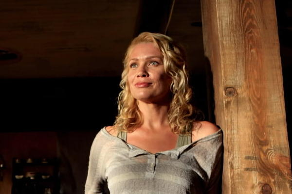 "Laurie Holden in a scene from ""The Walking Dead."""
