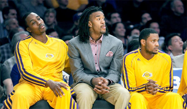 Jordan Hill has been cleared to play for the Lakers after undergoing hip surgery in January.
