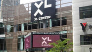 The XL Center, home to the Big East women's tournament, once again is getting strong competition from the Mohegan Sun Arena.
