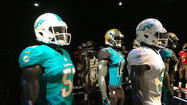 Purely from a fashion point of view - and I fully acknowledge that designer runways are not the point here - the <strong>Miami Dolphins </strong>have picked the worst time imaginable to get rid of all that orange in their new uniforms.