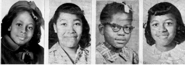 The House voted to award the Congressional Gold Medal to the four girls killed in a church bombing in Birmingham, Ala., in 1963. The girls, from left, were Denise McNair, 11, and Carole Robertson, Addie Mae Collins and Cynthia Wesley, all 14.
