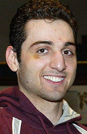 Tamerlan Tsarnaev, pictured, and his brother, Dzhokhar Tsarnaev, are suspects in the Boston Marathon bombing.