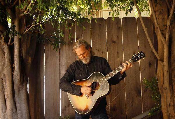 Jeff Bridges, shown in 2011, says having a band is a lifelong dream.