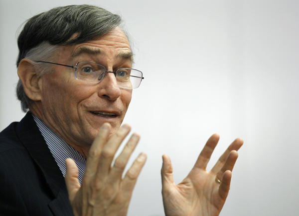 Richard Ketchum, Chairman and CEO of the Financial Industry Regulatory Authority, speaks during the Reuters Future Face of Finance Summit in New York in 2011.