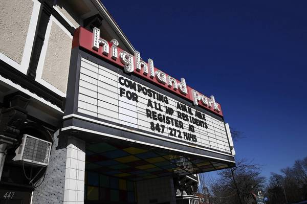 File photo of the Highland Park Theater on Jan. 16, 2013.